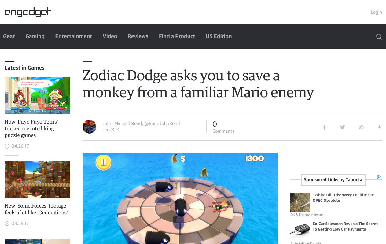 mcnabj.com james mcnab zodiac dodge engadget article screenshot